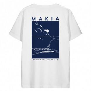 Camiseta Makia: Fyr TShirt (White) Makia - 1