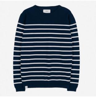 Jersey Makia: Coastal Knit (Dark Navy) Makia - 1