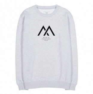 Sudadera Makia: Seafarer Light Sweatshirt (Light Grey) Makia - 1