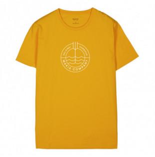 Camiseta Makia: Trident TShirt (Golden Yellow) Makia - 1