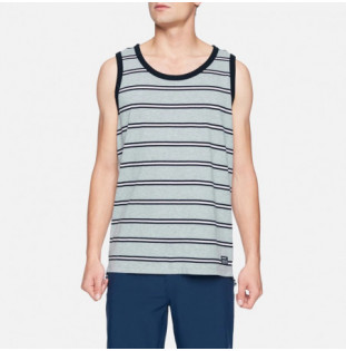 Camiseta Hurley: Dri Harvey YD Stripe Tank (Dark Grey Htr) Hurley - 1