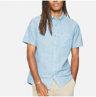 Camisa Hurley: M Hrly Oao 20 Top SS (Blue Ox) Hurley - 1