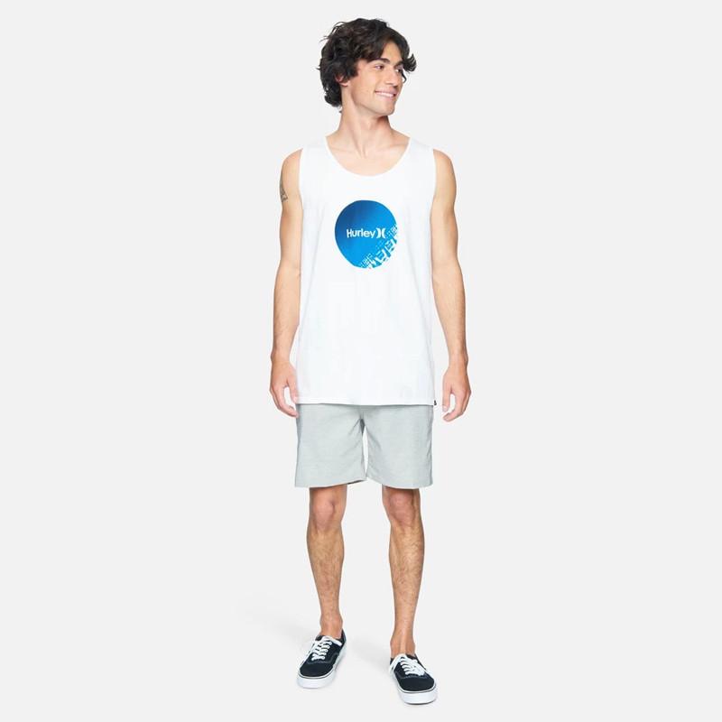 Camiseta Hurley: M Evd Wsh Strands Circle Tank (White)