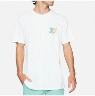 Camiseta Hurley: M Evd Reg Earth And Surfs SS (White) Hurley - 1