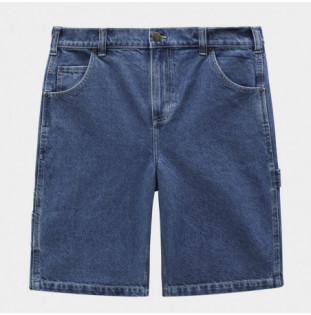 Bermuda Dickies: Garyville Denim Short Classic (Blue) Dickies - 1