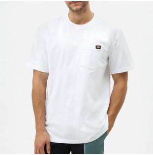 Camiseta Dickies: Porterdale Tshirt Mens (White)