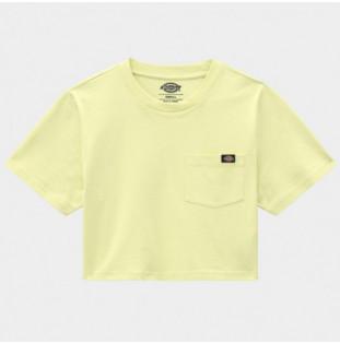 Camiseta Dickies: SS Porterdale Crop W (Mellow Green) Dickies - 1