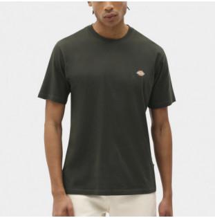 Camiseta Dickies: SS Mapleton T-Shirt (Olive Green) Dickies - 1