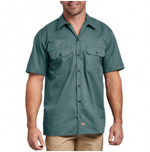 Camisa Dickies: Short Sleeve Work Shirt (Lincoln Green)
