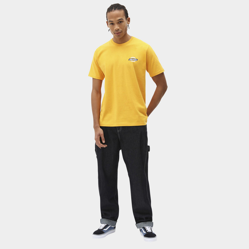 Camiseta Dickies: SS Ruston Tee (Cadnium Yellow)