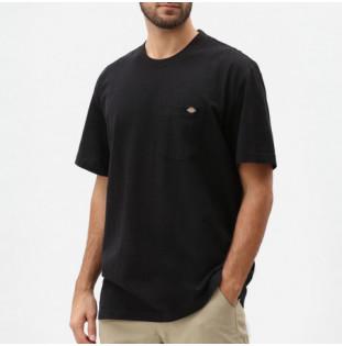 Camiseta Dickies: Porterdale Tshirt Mens (Black) Dickies - 1