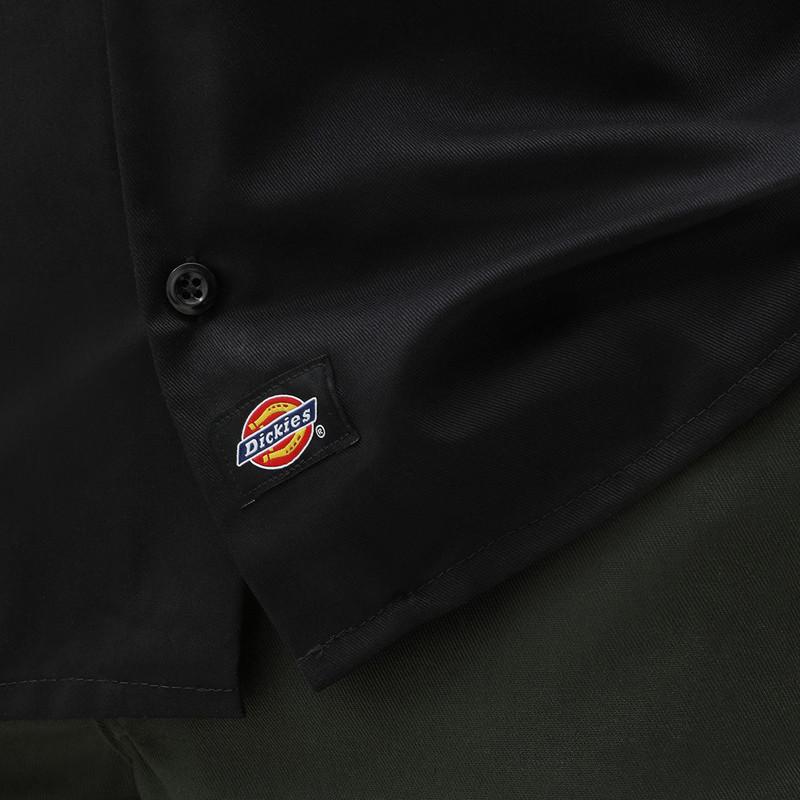 Camisa Dickies: Short Sleeve Work Shirt (Black)
