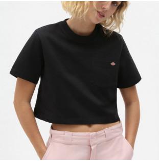 Camiseta Dickies: SS Porterdale Crop W (Black) Dickies - 1