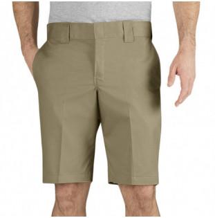 Bermuda Dickies: Slim Fit Short (Khaki) Dickies - 1