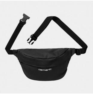 Riñonera Carhartt: Payton Hip Bag (Black White) - 1