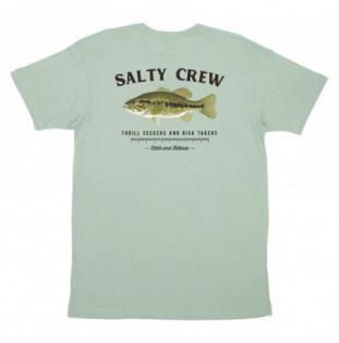 Camiseta Salty Crew: Bigmouth Premium SS Tee (Sage) Salty Crew - 1