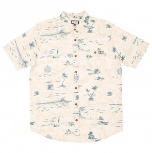 Camisa Salty Crew: Seafarer Woven (Vintage White) Salty Crew - 1