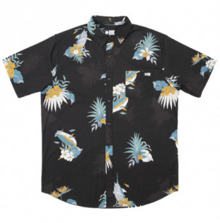 Camisa Salty Crew: Lay Day Ss Woven (Black) Salty Crew - 1