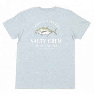 Camiseta Salty Crew: Gt Standard SS Tee (Light Blue Heather) Salty Crew - 1