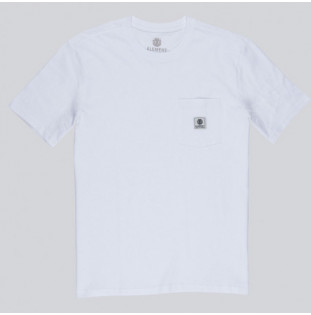 Camiseta Element: Basic Pocket Label S (Optic White) Element - 2