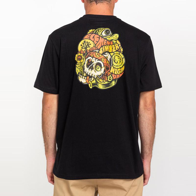 Camiseta Element: The Vision SS (Flint Black)