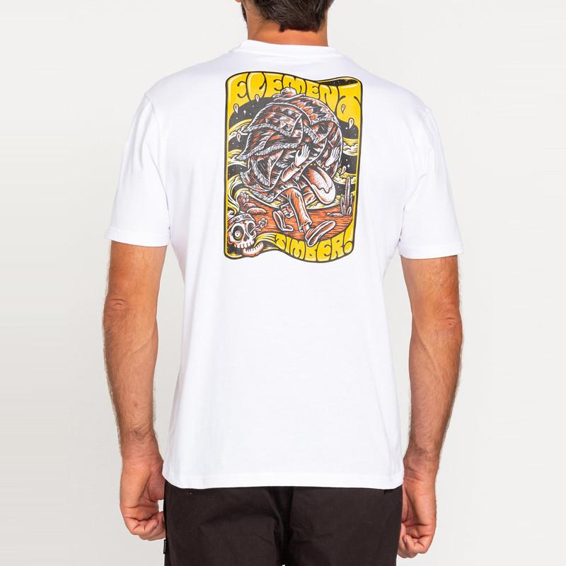 Camiseta Element: Nomadic SS (Optic White)