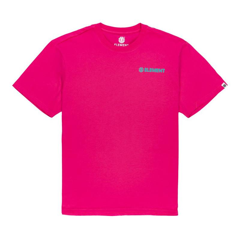 Camiseta Element: Blazin Chest SS (Fushia Red)