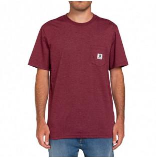 Camiseta Element: Basic Pocket Label S (Vint Red Heathe) Element - 1