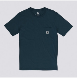 Camiseta Element: Basic Pocket Label S (Eclipse Navy) Element - 1