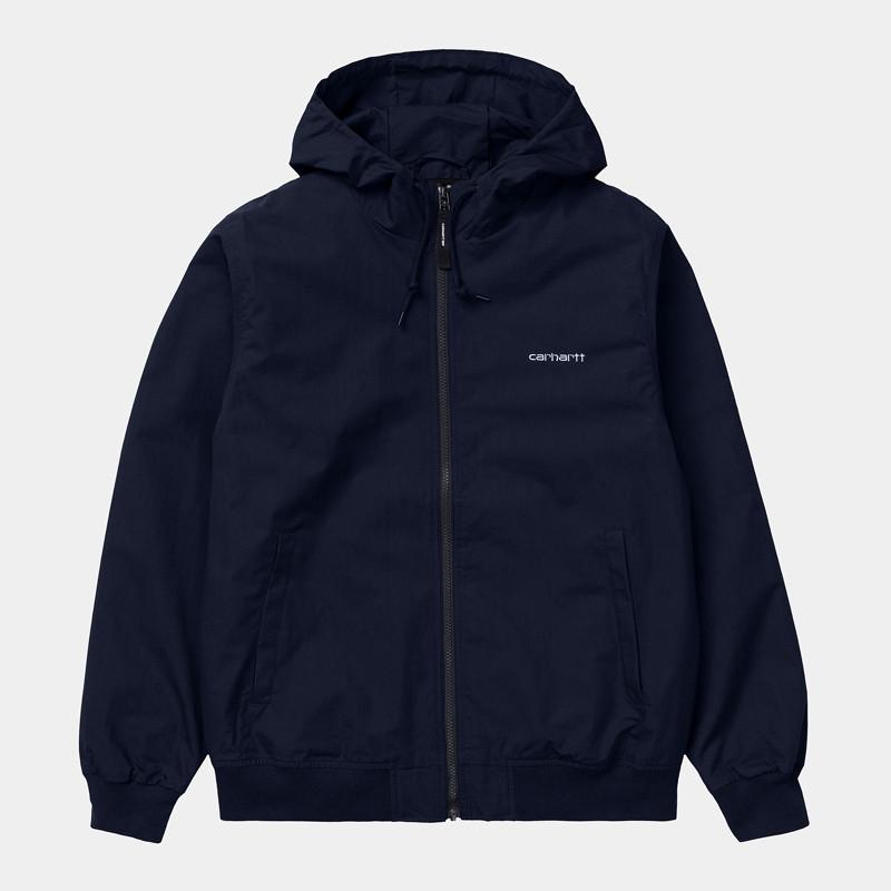 Chaqueta Carhartt: Marsh Jacket (Dark Navy White)