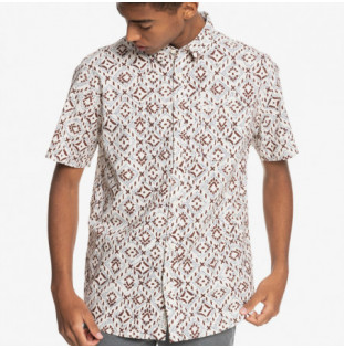 Camisa Quiksilver: Baja Blues (Antique White Baja Blues)