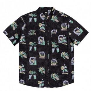 Camisa Quiksilver: Island PuLSe (Black Island Pulse) Quiksilver - 1