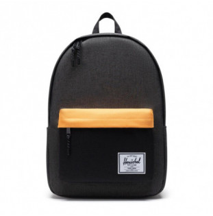 Mochila Herschel: Classic X-Large (Black Crosshatch/Black/Blazing Orange)