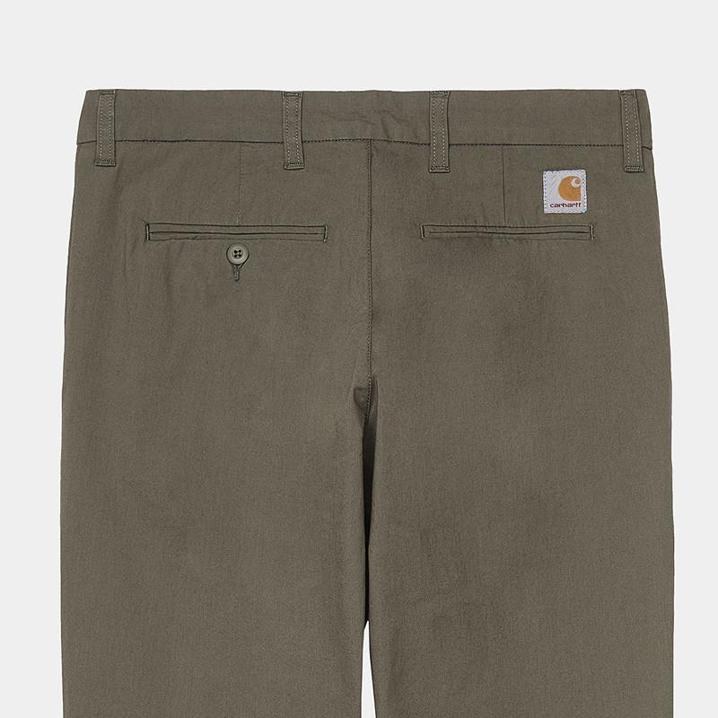 Pantalón Carhartt: Sid Pant (Moor)