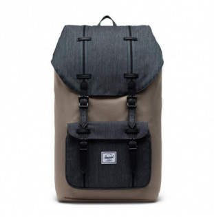 Mochila Herschel: Little America (Timberwolf Blk Denim Blk)