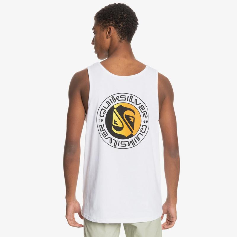 Camiseta Quiksilver: Mellow Phonic Tank (White)