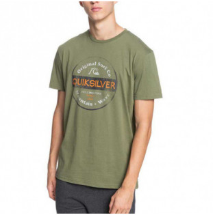 Camiseta Quiksilver: From Days Gone SS (Four Leaf Clover) Quiksilver - 1