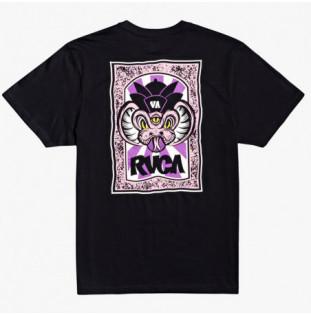 Camiseta RVCA: Roberto SS (Black) RVCA - 1