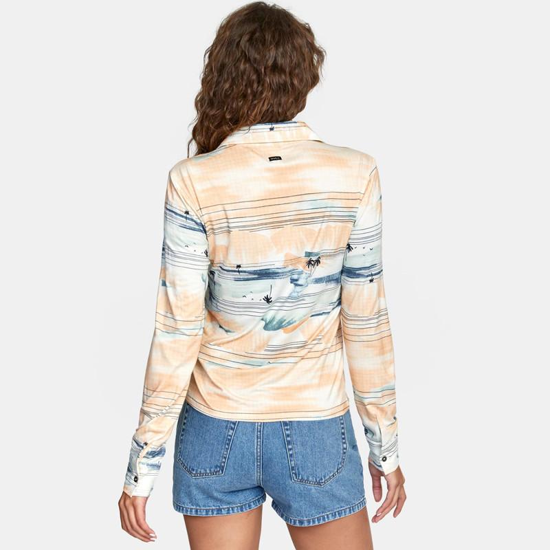 Camisa RVCA: Rolling (Multi)