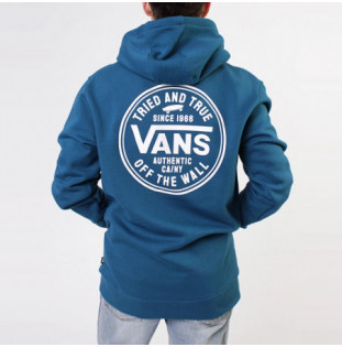 Sudadera Vans: Mn Tried And True Po (Moroccan Blue)
