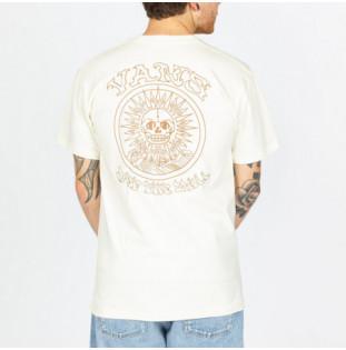 Camiseta Vans: Mn El Sole SS (Seedpearl) Vans - 1
