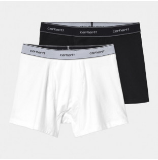 Boxer Carhartt: Cotton Trunks (Black White)