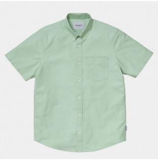 Camisa Carhartt: SS Button Down Pocket Sht (Mineral Green) Carhartt - 1