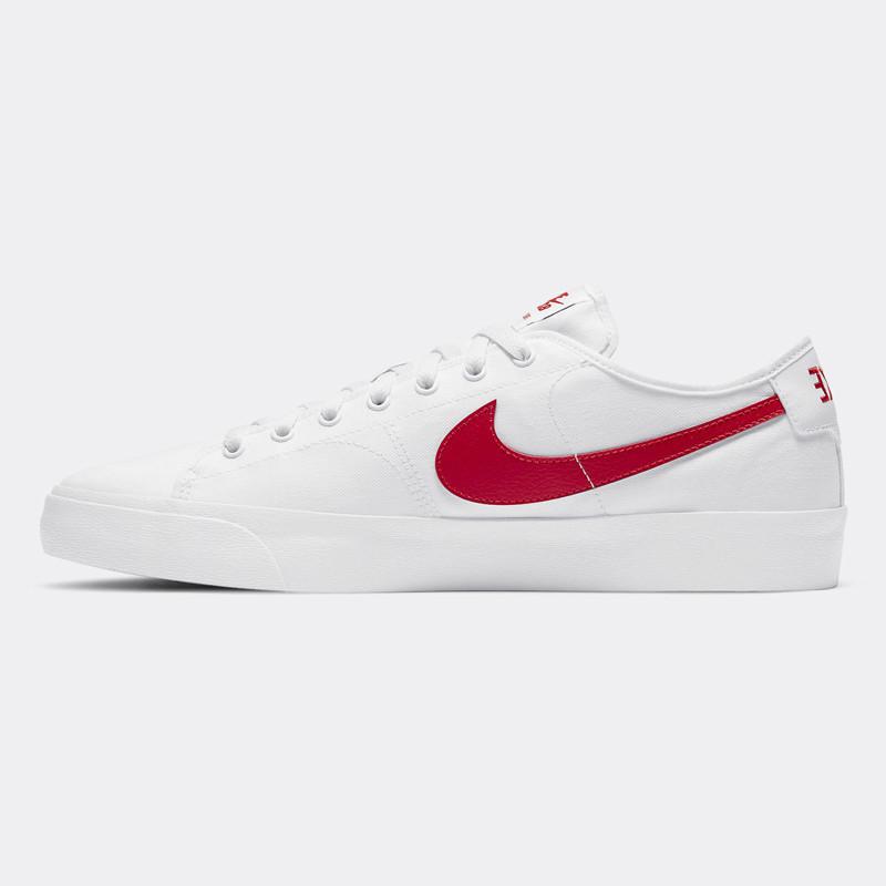 Zapatillas Nike: Blazer Court (White Univ Red White Blk)
