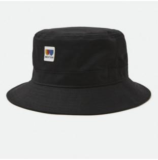 Gorro Brixton: Alton Packable Bucket Hat (Black) Brixton - 1