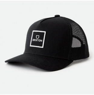 Gorra Brixton: Alpha Block X C MP Mesh Cap (Black)