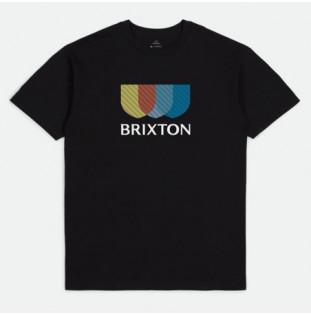 Camiseta Brixton: Alton Stripe SS STT (Black)