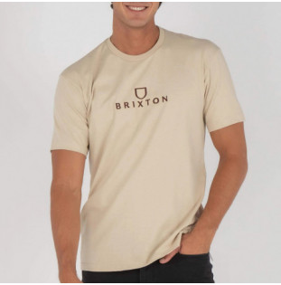 Camiseta Brixton: Alpha Thread SS STT (Cream)