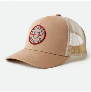 Gorra Brixton: Crest X MP Mesh Cap (Khaki)
