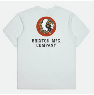 Camiseta Brixton: Rival Line SS Tlrt (White)